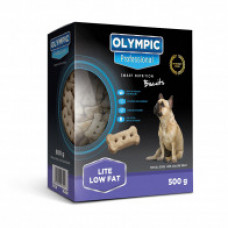 Olympic Professional Lite & Low Fat Dog Biscuits - 500g